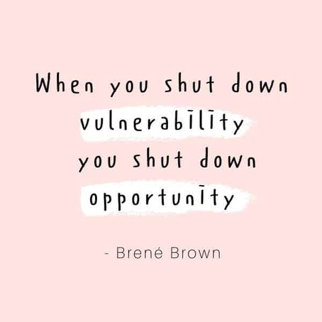 Creating an Environment that Promotes Vulnerability