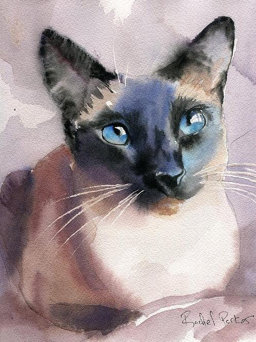 """Blue Eyes"" Giclée"