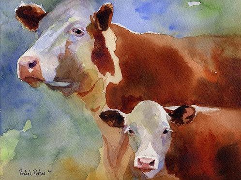 """""""Mama Cow"""" Giclée"""