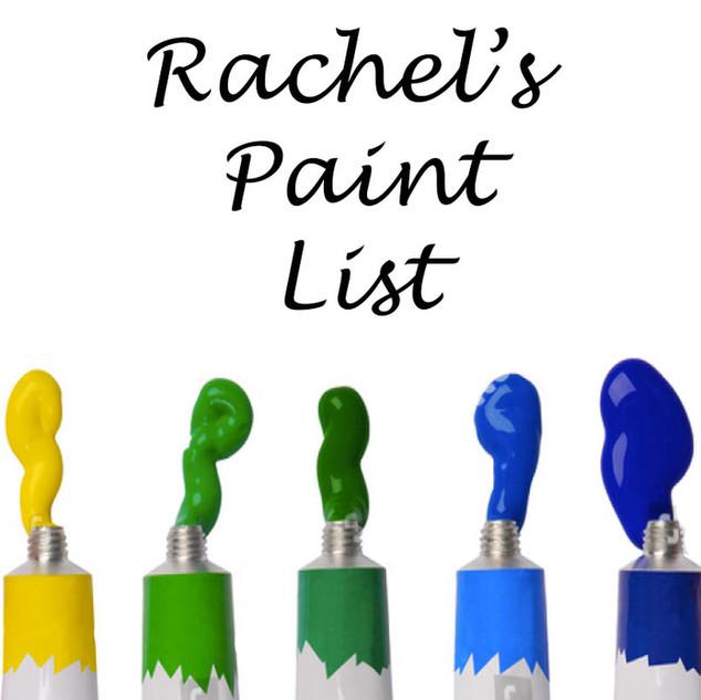 List of Paint Colors