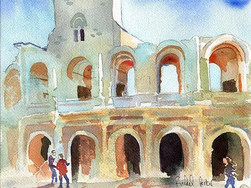 """""""Arles France"""" Giclée"""