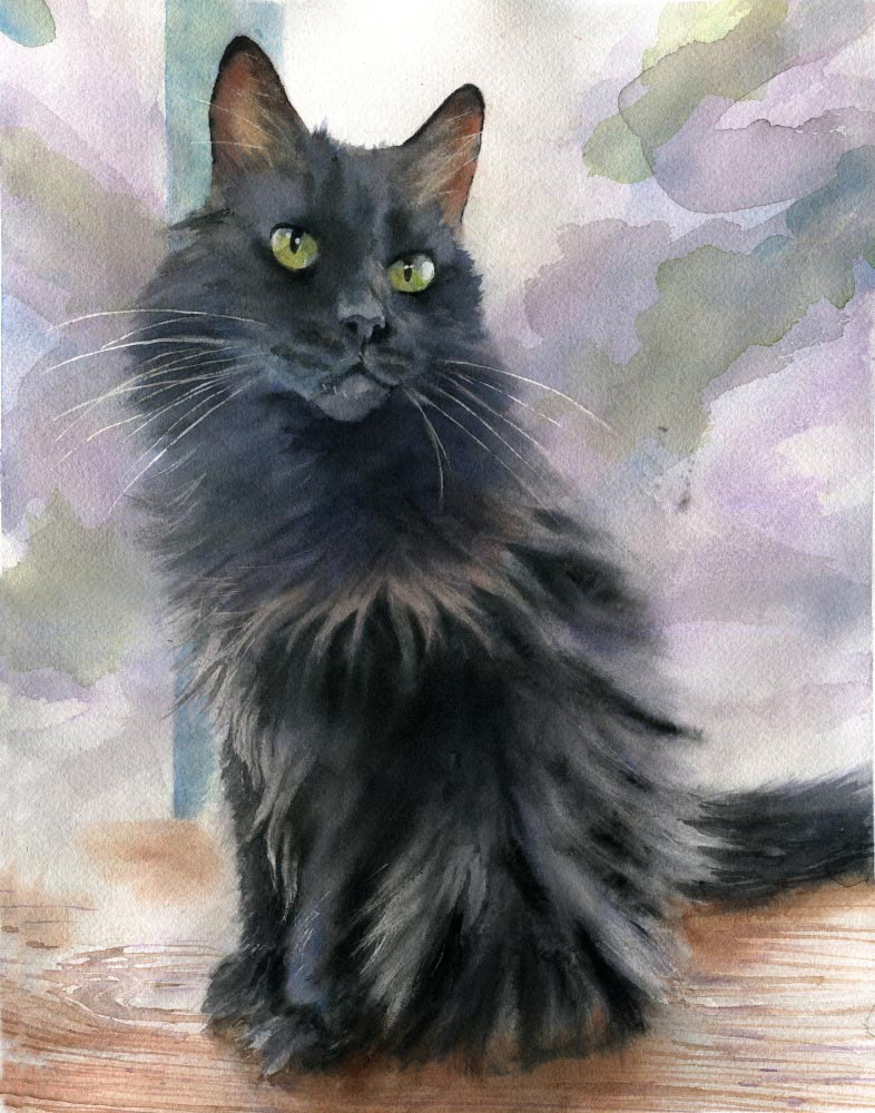 https://www.rachelsstudio.com/product-page/benched-14x11-original-black-cat-watercolor-painting