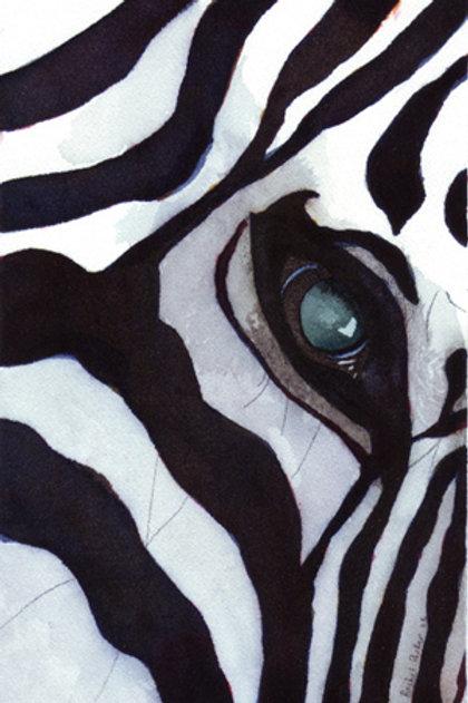 """Zebra Thoughts"" Giclée"