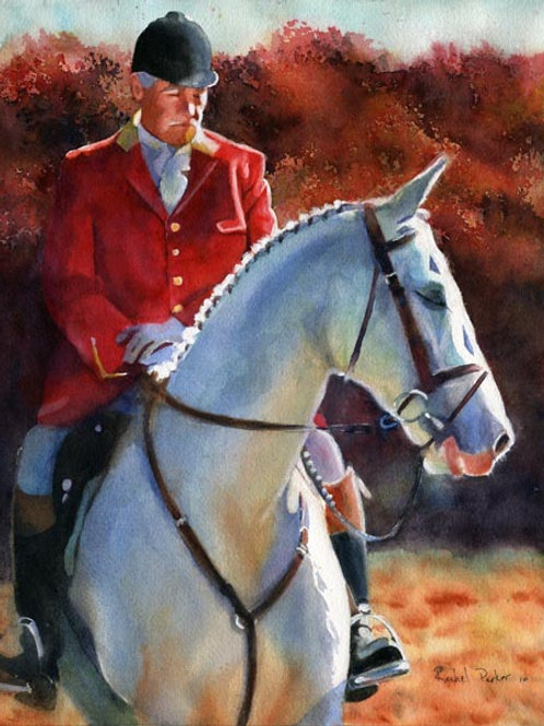 """""""Before the Hunt"""" Foxhunt Giclée"""