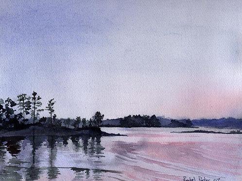 """""""Beechcreek Cove"""" Giclée"""