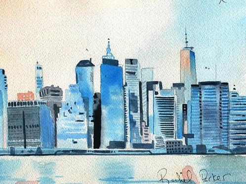 """New York Views"" Giclée"