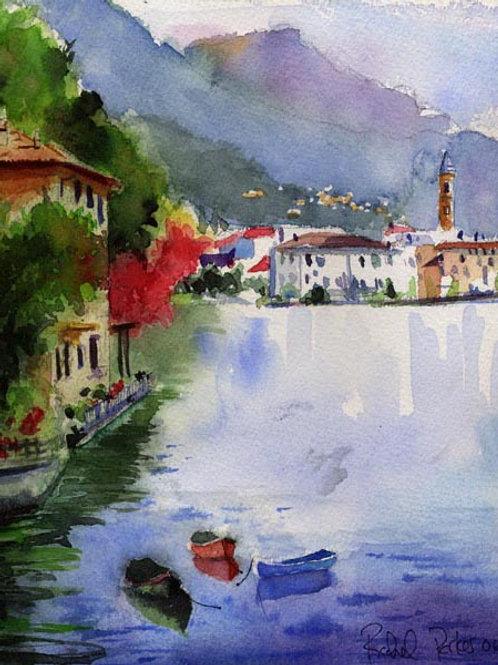 """""""Lake Como"""" Giclée"""