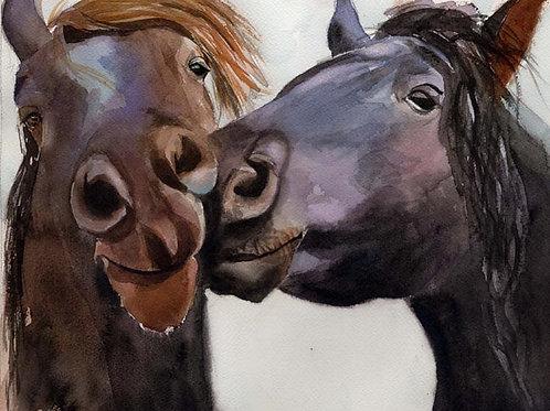 """Horse Love"" Giclée"