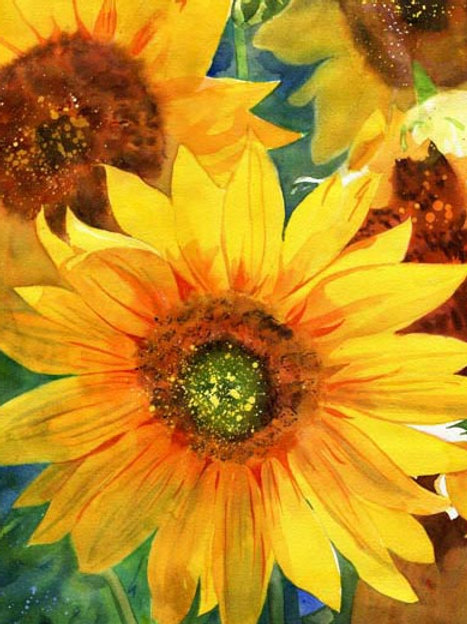 """Sunflowers"" Giclée"