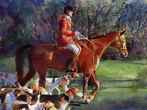"""Morning Hunt"" Foxhunt Giclée"