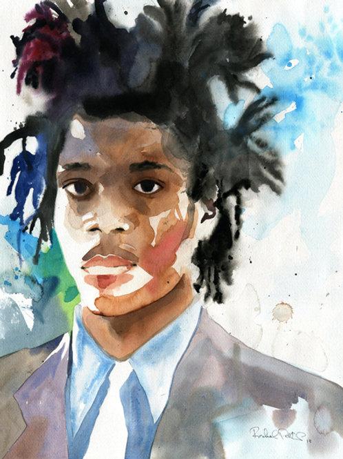 """""""Basquiat"""" Giclée"""