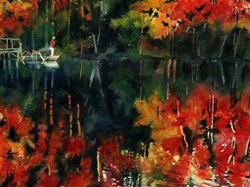 """Fall Cove"" Giclée"
