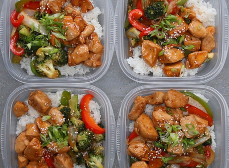 Meal Prepping for the Mind & the Body