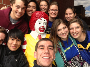 Students at Service in the Community