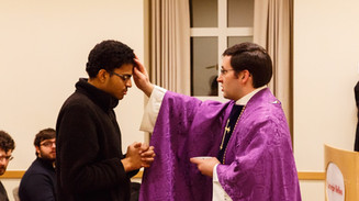 CMU Ash Wednesday Mass, 2015