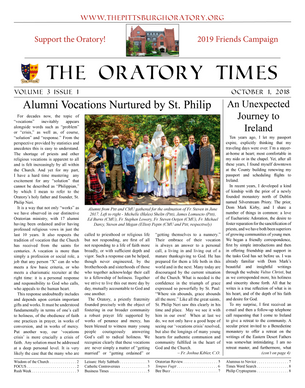 The Oratory Times!