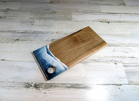 Small Beach Epoxy Cutting Board