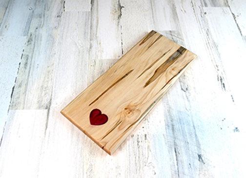 Heart inlay board