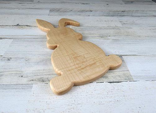 Bunny shaped cutting board