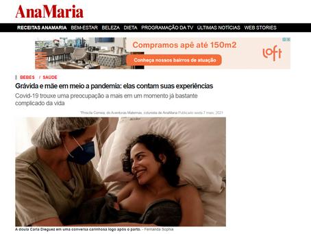 Portal da revista Ana Maria