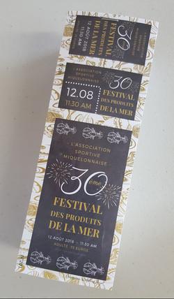 Billets Spécial Anniversair Festival