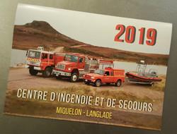 Mise en page Calendrier Pompiers