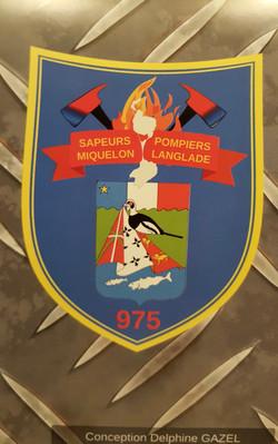 Version Numérique Ecusson Pompier