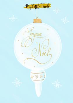 Carte Noël My Little Touch