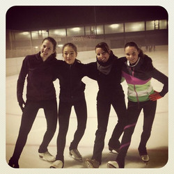 Julia, Vale, Andrea and Elisa