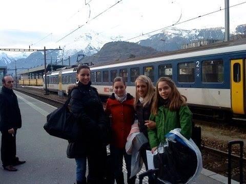 Andrea, Sofie, Nathalie and Katja