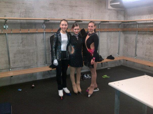 Valentina, Sofie, and Jelena