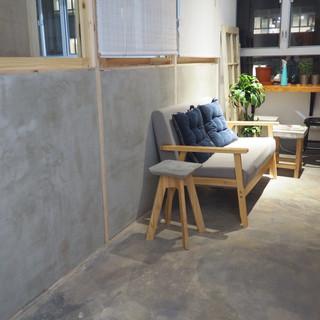 Concrete plastering work