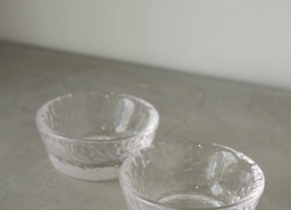 玻璃波點紋小杯