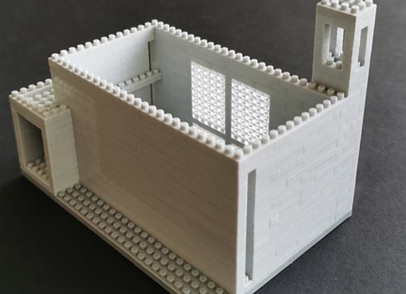 Lego architecture 安藤忠雄 - 風之教堂微積木  Tadao Ando - Chapel on Mount Rokko Brick