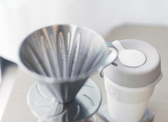 日本寶馬牌 不銹鋼錐形咖啡濾器 1-4cups