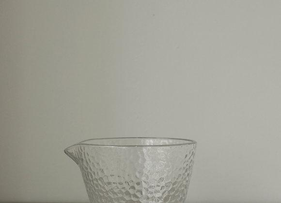 玻璃波點紋分享杯