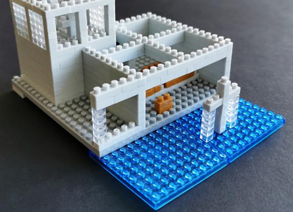 Lego architecture 安藤忠雄 - 水之教堂微積木 Tadao Ando - Chapel on the Water
