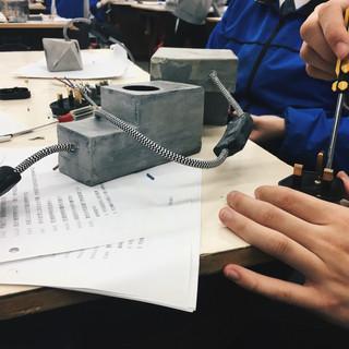 LOK SIN TONG WONG CHUNG MING SECONDARY SCHOOL, CONCRETE CLASS (LAMP DESIGN)