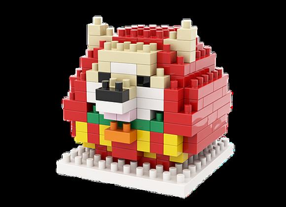 Lego architecture - 日本柴犬達摩微積木