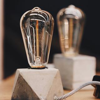 CONCRETE LAMP DESIGN