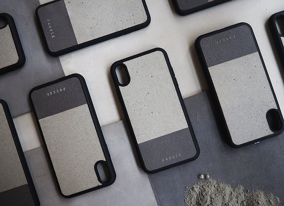 MIX AND MATCH Concrete x Dark grey concrete case 石屎混合手機殼