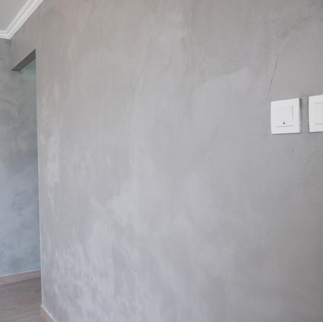 Concrete wall paint