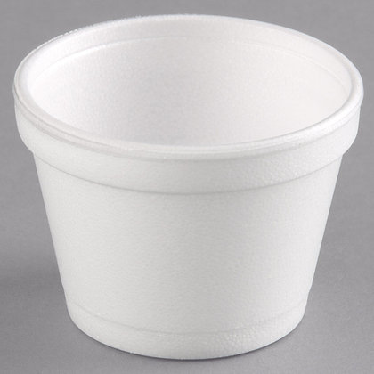 12 oz Foam Cup (no lid)