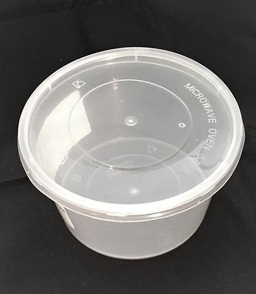 16 oz Plastic Cup + Lid