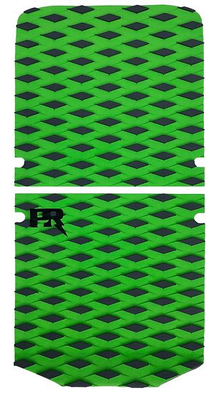 Onewheel XR Traction Pad Set - Diamond Plate Green (Stock Foot Pad Compatible)