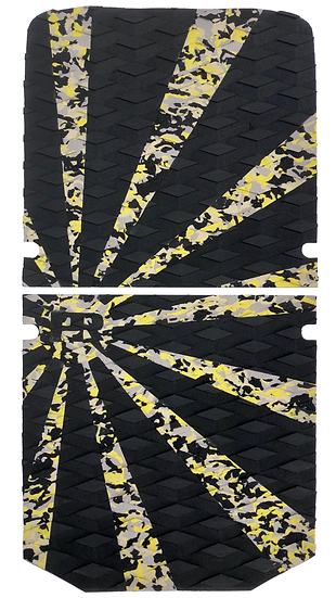 Onewheel XR Traction Pad Set Rising Sun - Yellow Camo (Stock Compatible)