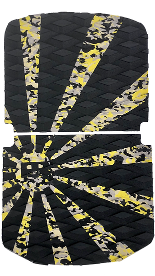 Onewheel Pint Traction Pad Set - Rising Sun Yellow Camo (Kush Nug Hi Compatible)