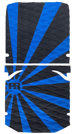 Onewheel XR Traction Pad Set Rising Sun - Blue/Black (OG Kush Tail Compatible)