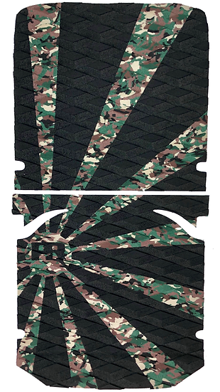 Onewheel XR Traction Pad Set Rising Sun - Camo/Black (OG Kush Tail Compatible)