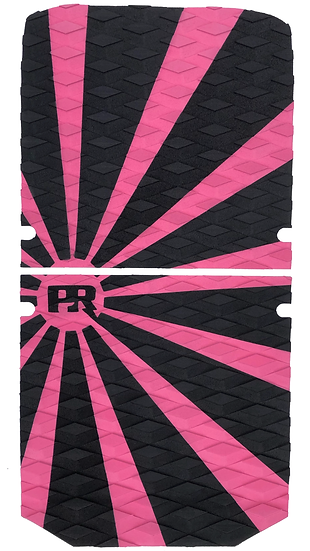 Onewheel XR Traction Pad Set Rising Sun - Pink/Black (Stock Foot Pad Compati